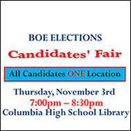 Board of Education Candidates Fair