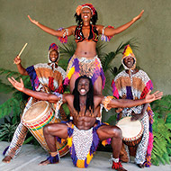 African drum and dance troupe