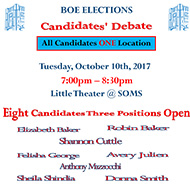 Board of Education candidate debate