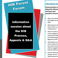 HIB parent forum