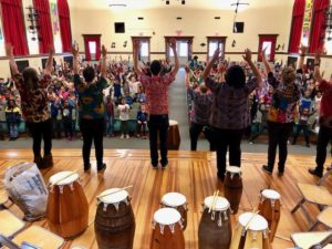 African Drumming Assembly