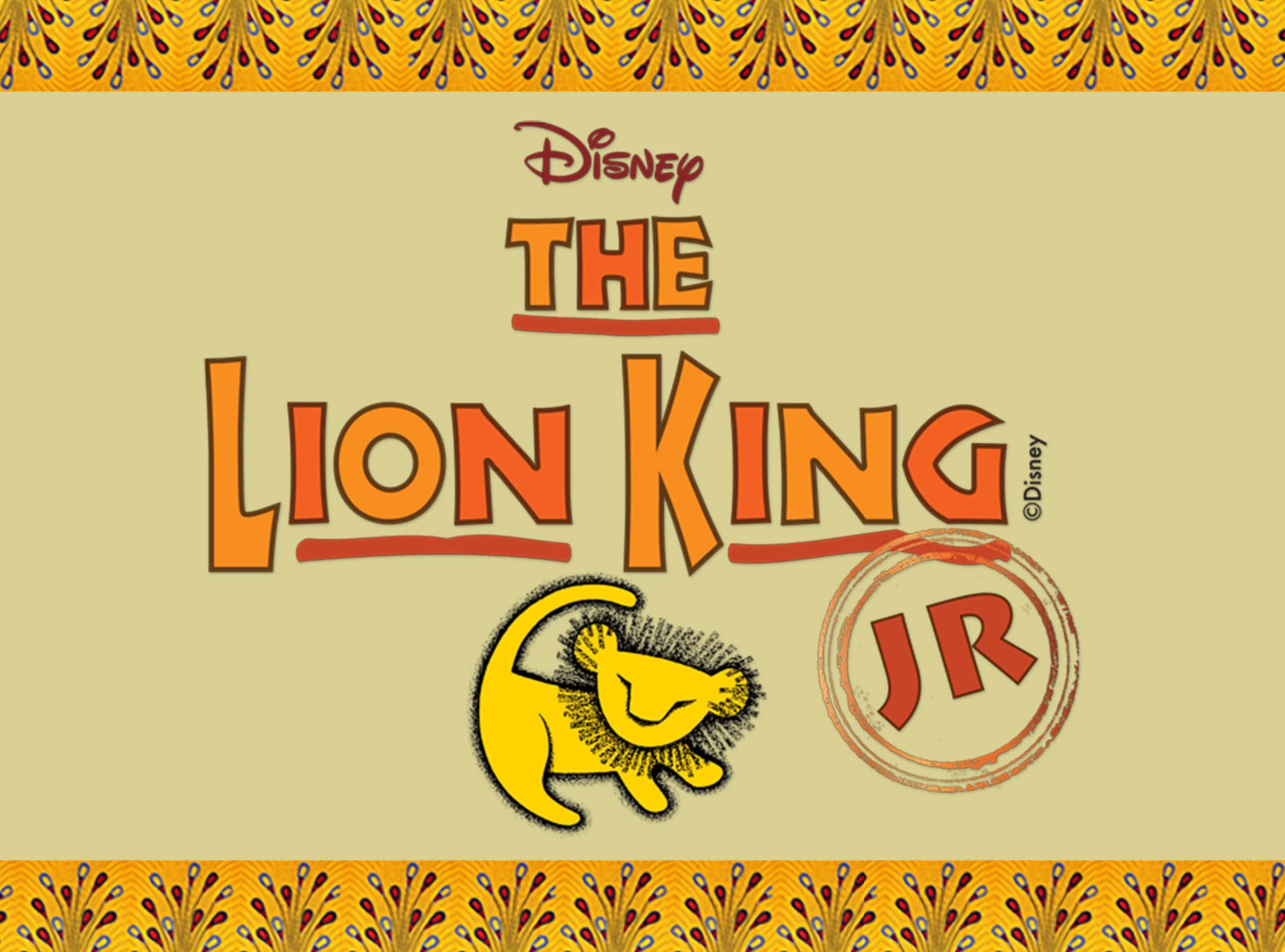Lion King save the date