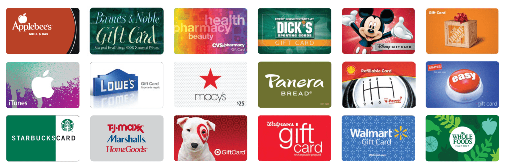 shop with scrip cards