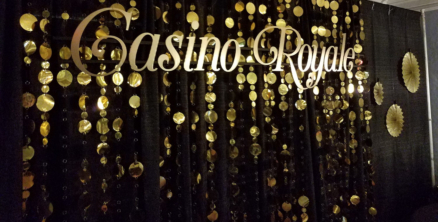 casino royale sign at entry