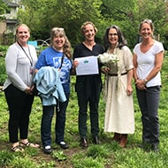 Maggie Tuohy wins Elizabeth Abernathy Hull Fund for Early Environmental Education
