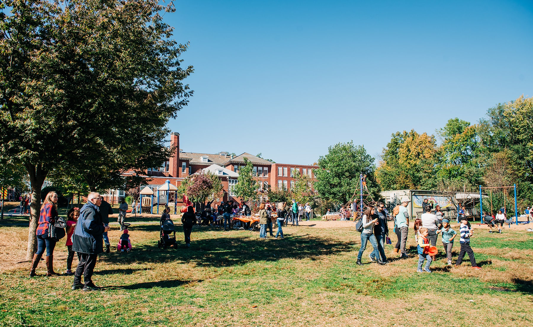 Seth Boyden Outdoor Learning Center at 2019 Harvest Fest