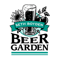 seth boyden beer garden auction logo